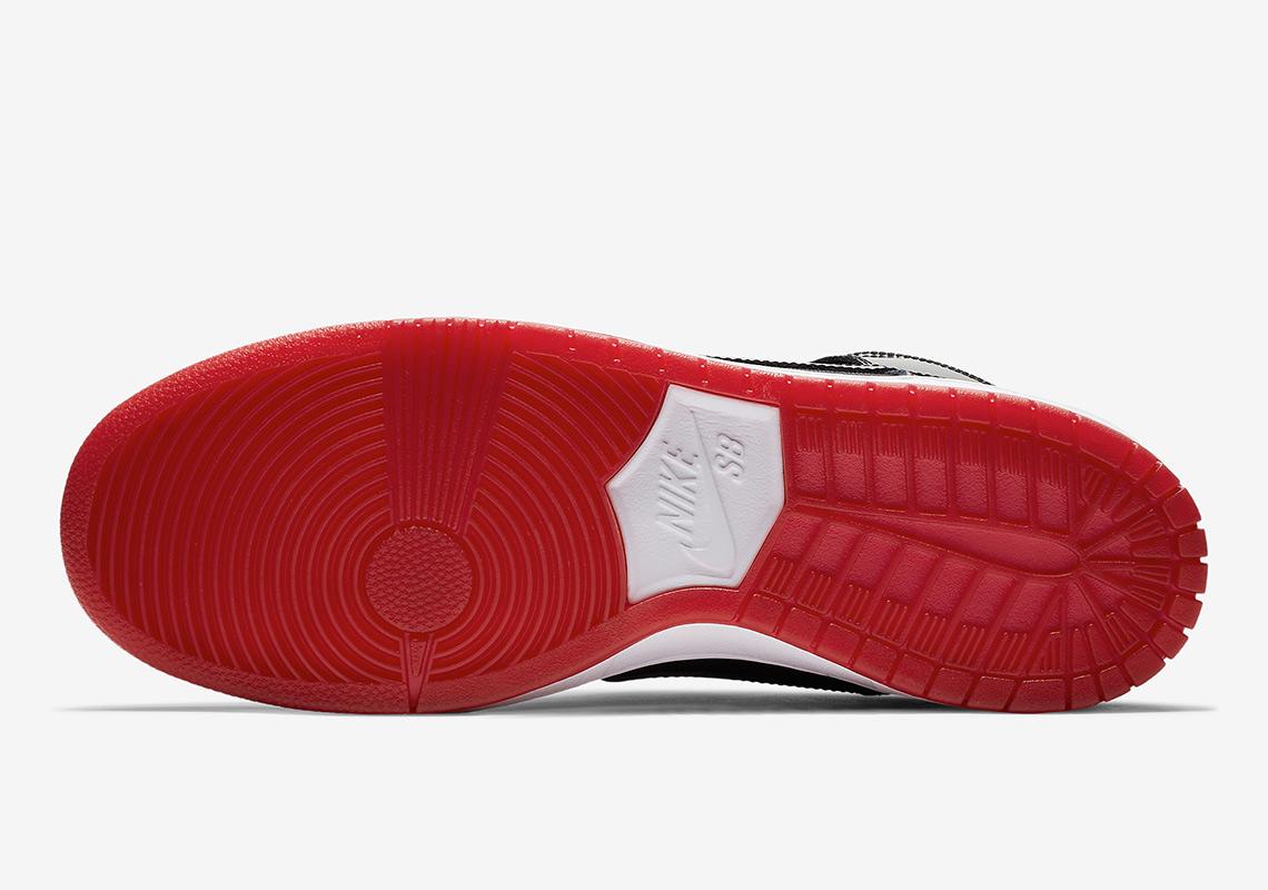 Nike SB Dunk High Jordan 11 Bred Release Info  1028ebd15