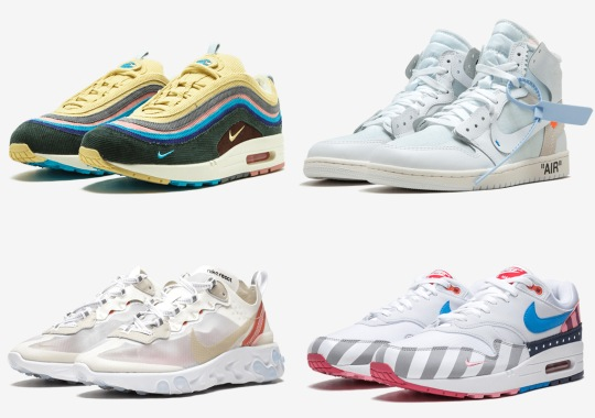 new product 361ee 2e4b8 Off-White, Parra, And More Restocks Coming To Nike SNEAKRS Europe 1 Year