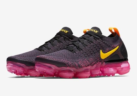 """Nike Vapormax Flyknit 2 """"Pink Blast"""" Is Arriving Soon"""