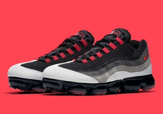 """ce11dff435 The Nike Vapormax 95 Remixes The OG """"Comet"""" Colorway"""