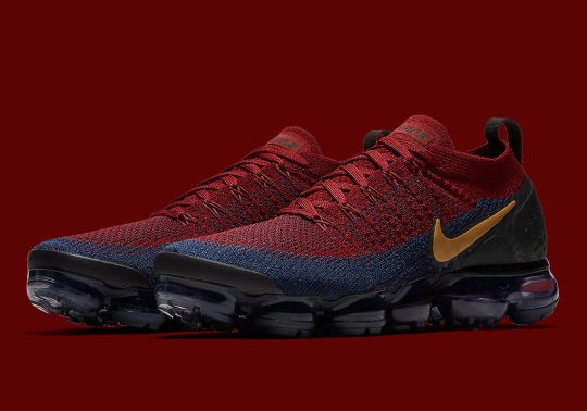 Cavaliers Colors Arrive On The Nike Vapormax Flyknit 2