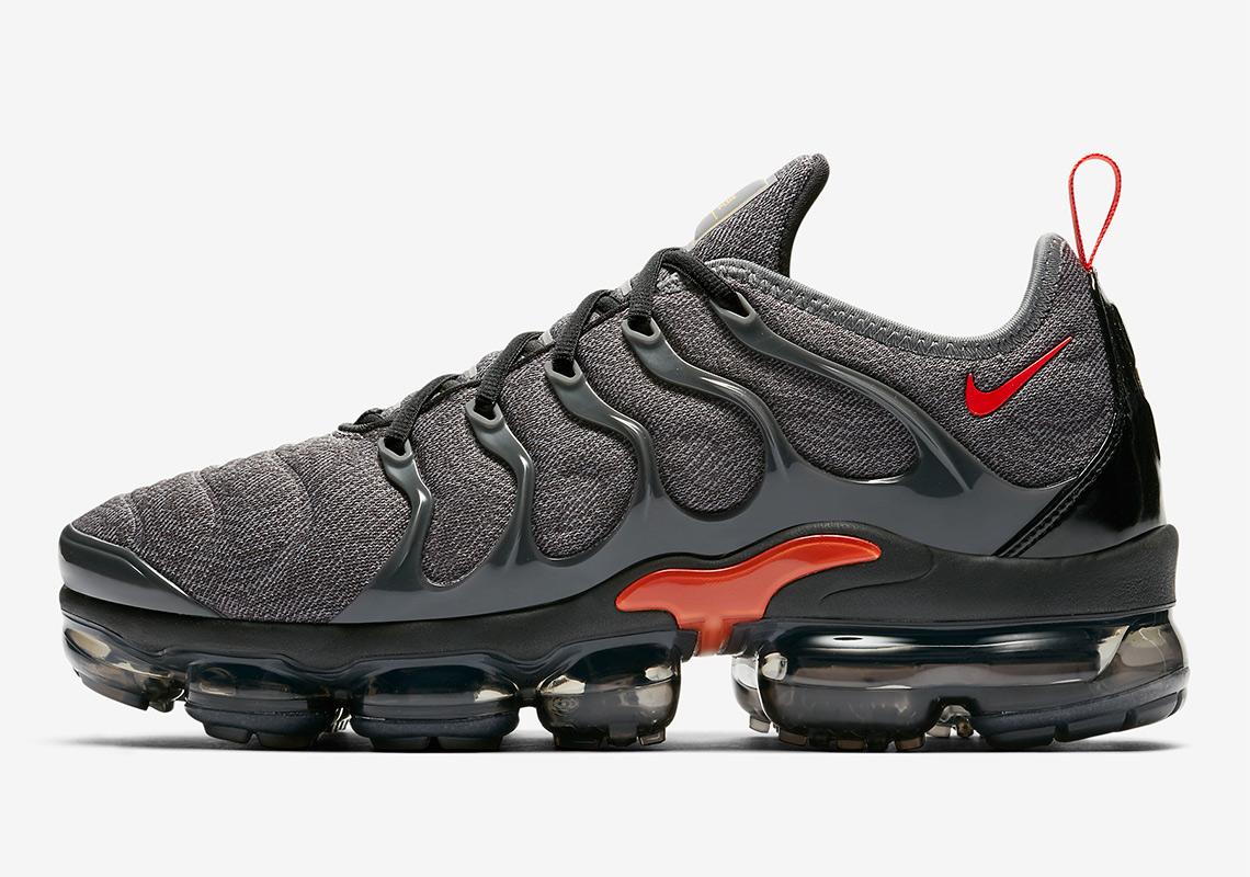 d49745c2f8 Nike Vapormax Plus Grey/Orange 924453-012 Release Info | SneakerNews.com