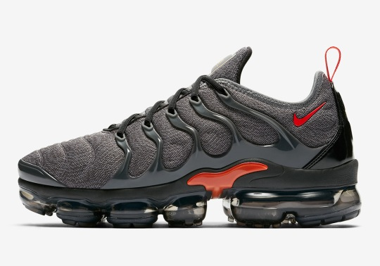 Nike Vapormax Plus Is Coming In Grey And Red