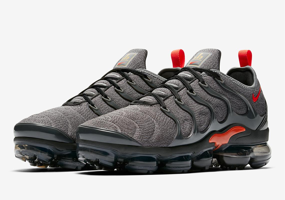 Nike Vapormax Plus Grey/Orange 924453