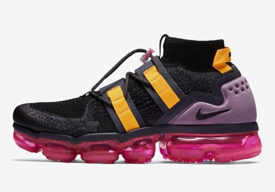 """Nike Vapormax Utility """"Pink Blast"""" Is Arriving Soon"""