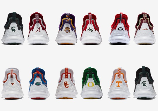 Nike Releases A NCAA Football Pack Exclusively For Women