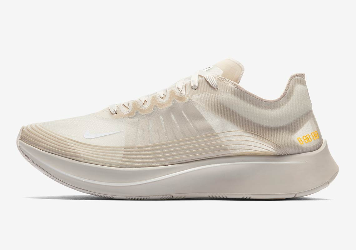 f81423497f584 Nike Zoom Fly SP Light Bone AJ9282-002 Available Now