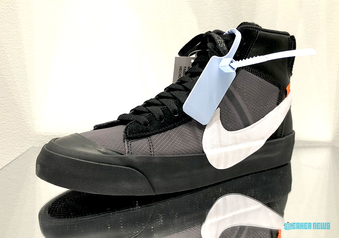"Closer Look At The Off-White x Nike Blazer ""All Hallows Eve"" And ""Grim  Reaper"" 030590a704"