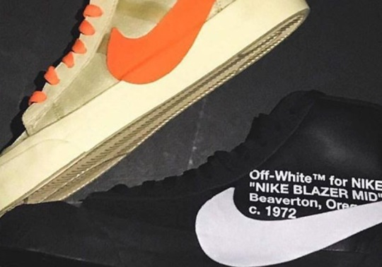 "Off-White Confirms Nike Blazer ""All Hallows Eve"" And ""Grim Reapers"""