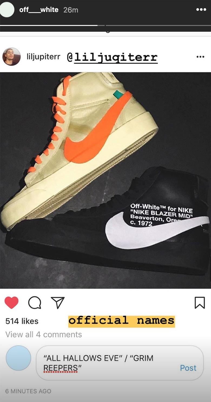 Nike X Off White HALLOWEEN BLAZERS Release Info | YEEZY RESTOCKS | Sneaker Updates