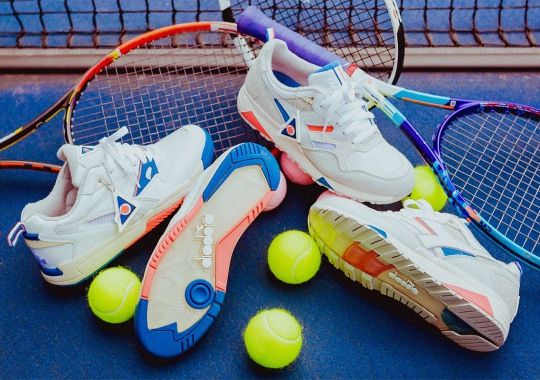 "Packer And Diadora Celebrate NYC Tennis Energy With ""ON/OFF"" Collection"