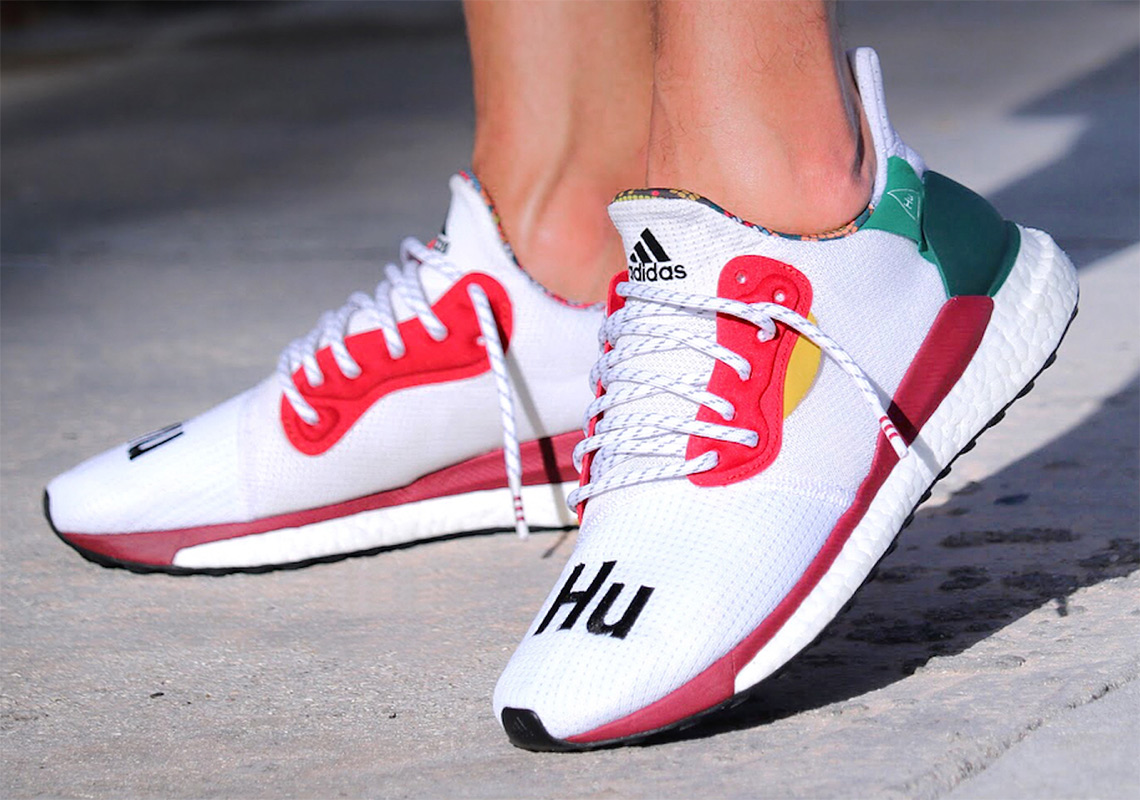 2e525ee84 Pharrell s New adidas Shoe Collaboration Is Releasing In White