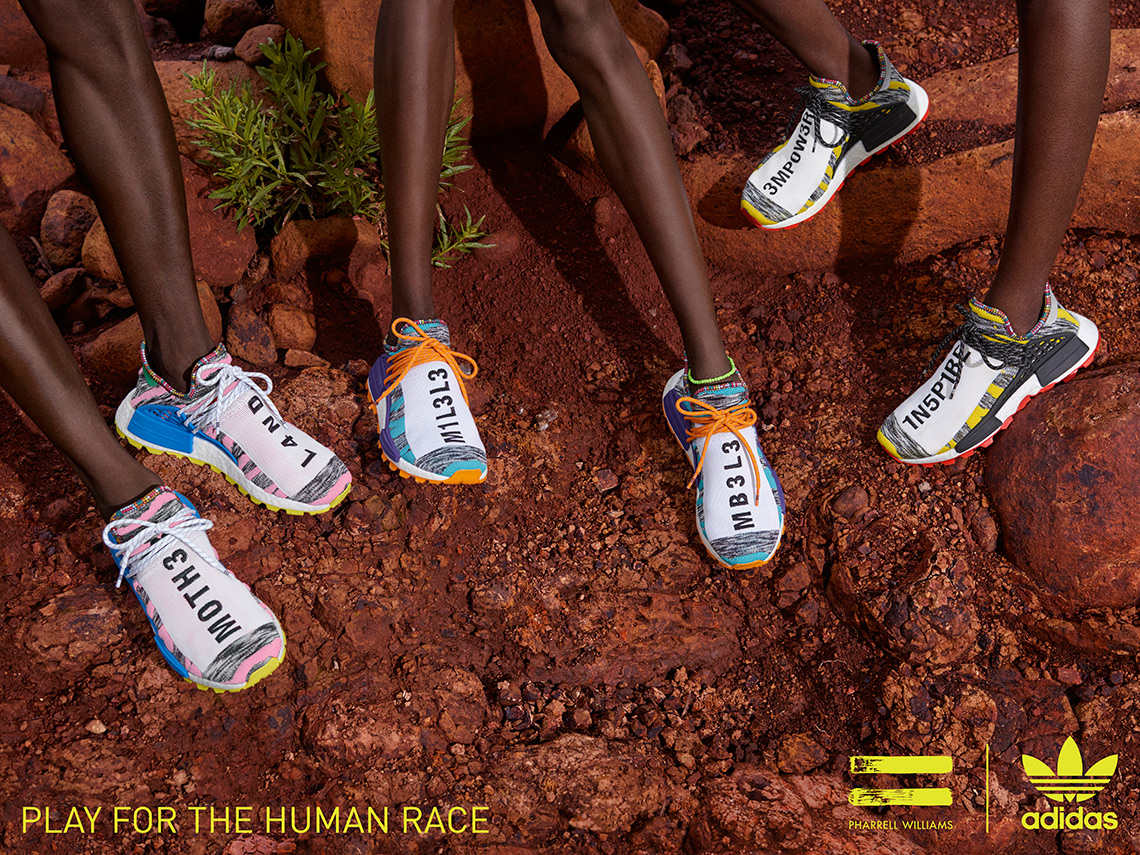 Aplicando Pies suaves Cariñoso  Pharrell adidas Solar Hu NMD Shoes Buyers Guide | SneakerNews.com