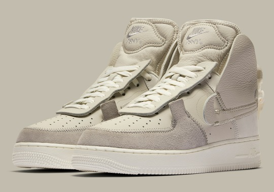 The PSNY x Nike Air Force 1 High Releases On September 5th
