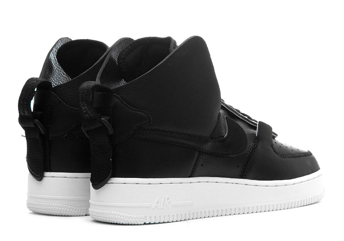 Psny Nike Air Force 1 High Black Ao9292 002 Sneakernews Com