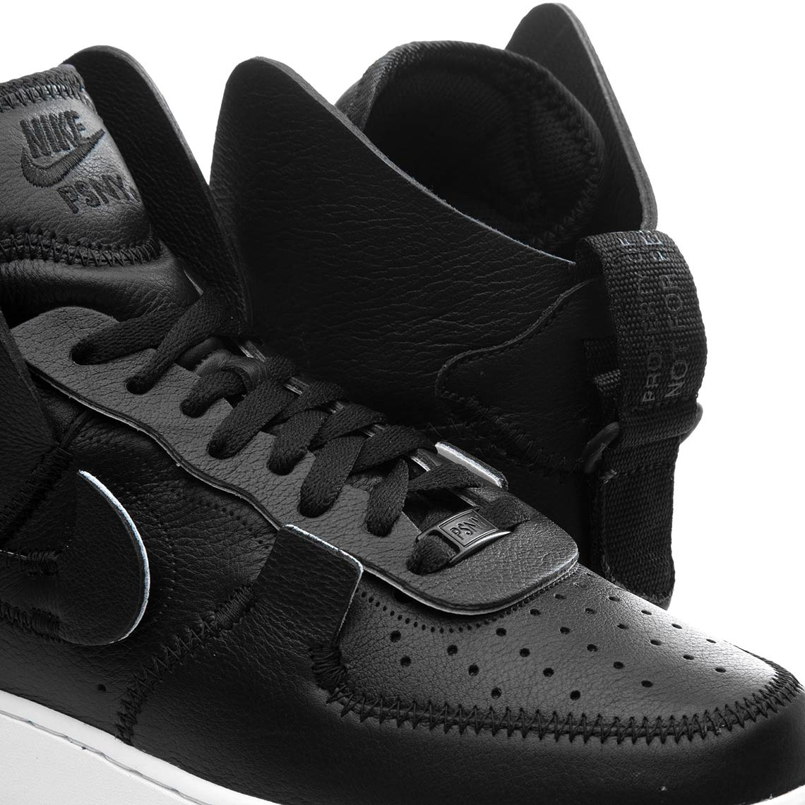 Psny Nike Air Force 1 High Black Ao9292 002 Sneakernews Com