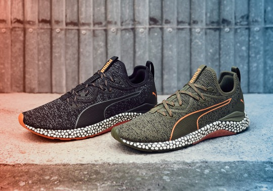 Puma's HYBRID Technology Hits The Pavement With New Runner Model