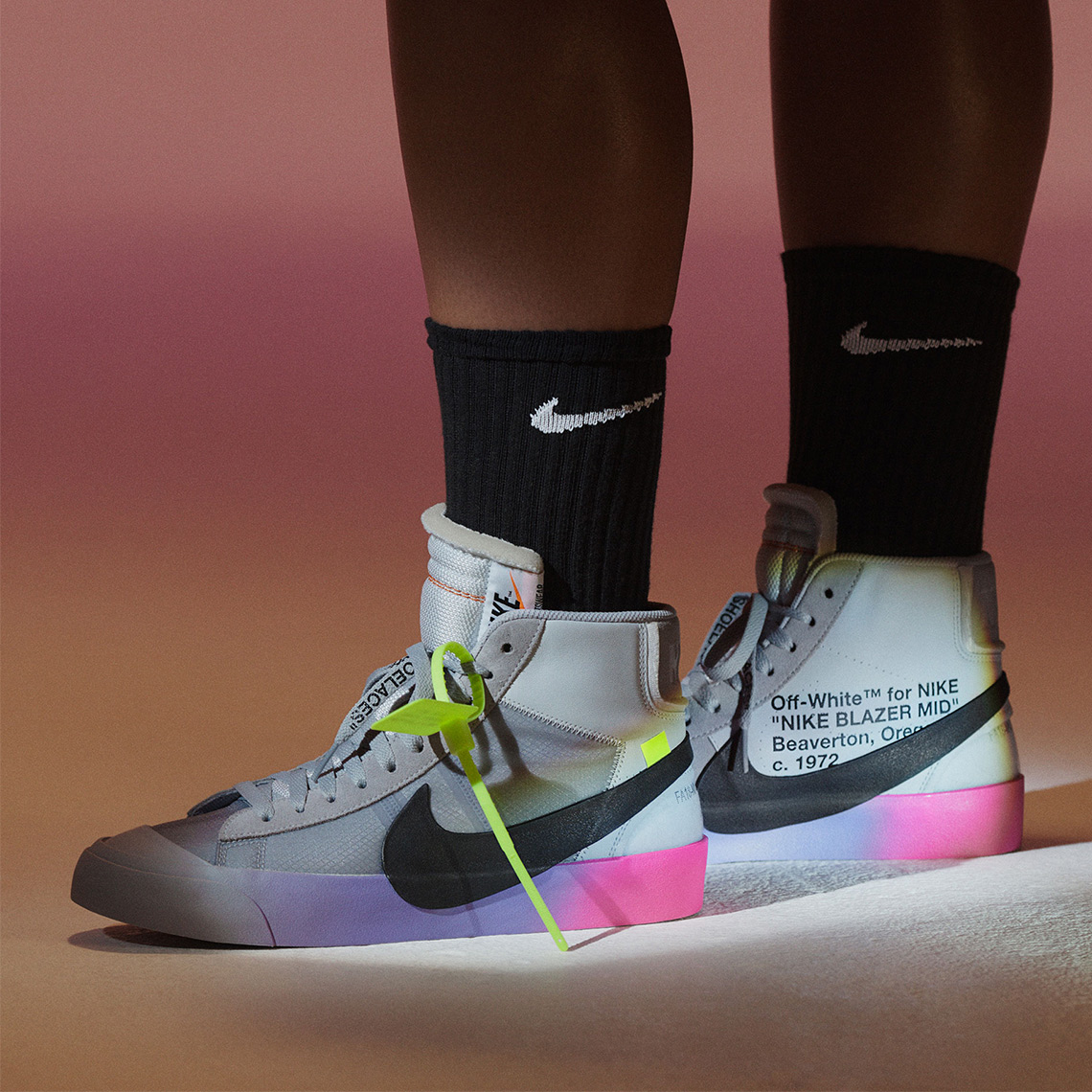 new product efc2e ff3a8 Off-White Virgil Abloh Serena Williams Nike Air Max 97 + Blazer ...