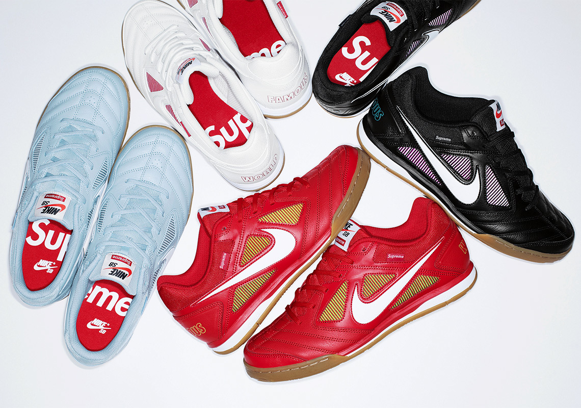 Supreme And Nike To Release The Gato On August 30th 63a54e346