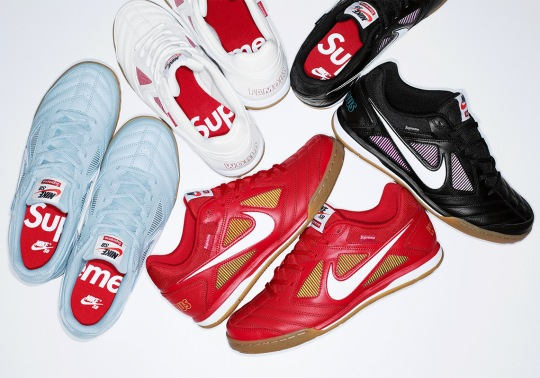 Supreme And Nike To Release The Gato On August 30th