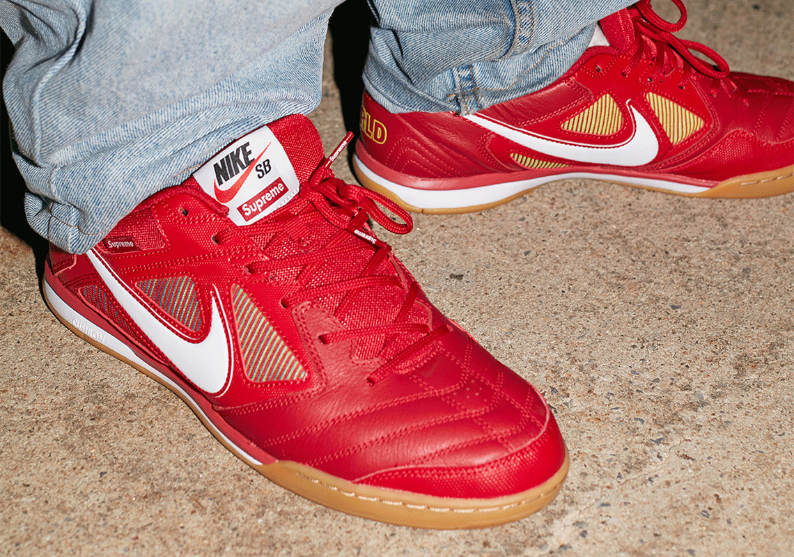 b01b261b952f Supreme x Nike SB Gato Releases On SNKRS On September 7th
