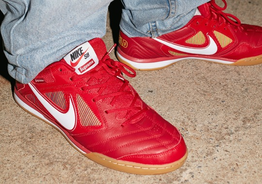 Supreme x Nike SB Gato Releases On SNKRS On September 7th