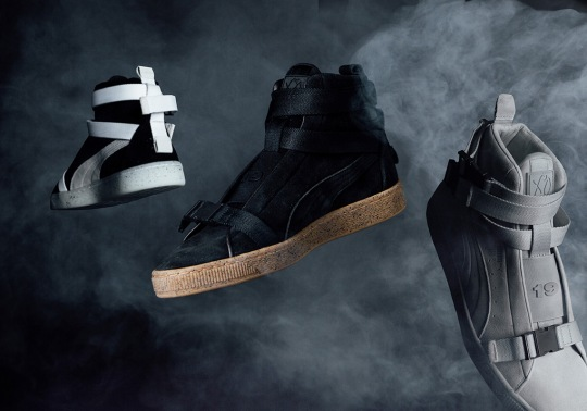 The Weeknd Transforms The Puma Suede Into A Military Boot
