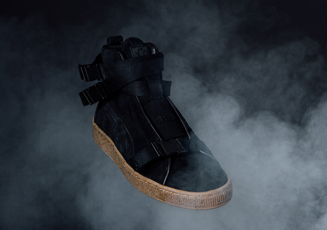 The Weeknd Puma Suede Military Boot