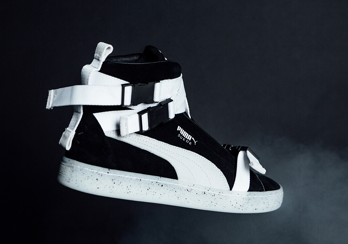 buy online 14c18 7997d The Weeknd Puma Suede Military Boot Release Date ...