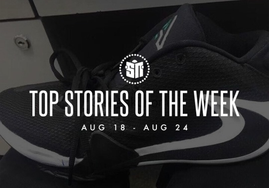 First Look At The Greek Freak 1, The adidas Yeezy 700 v3, And More