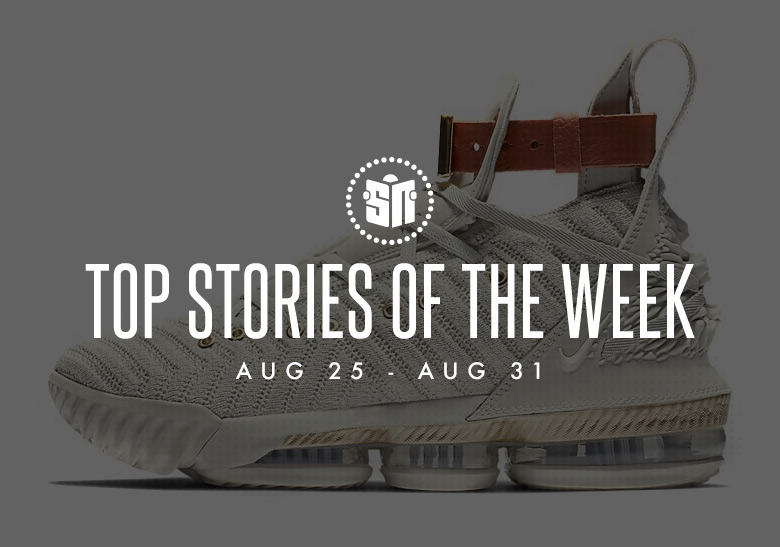 buy popular ada5e fa812 Nike LeBron 16 Release Info, Glow-In-The-Dark Yeezys, And More