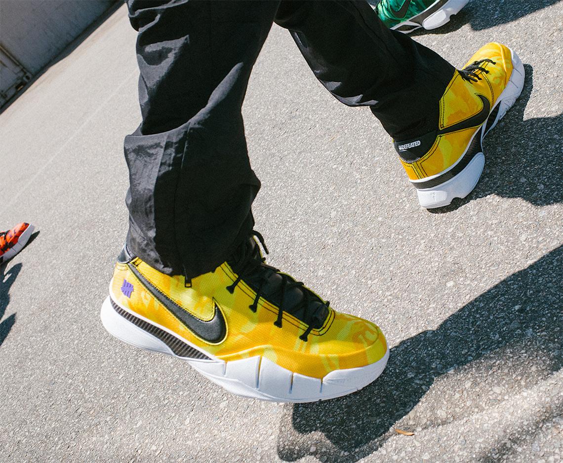 a4fcc2491376 UNDEFEATED Nike Kobe 1 Protro Camo SNKRS Release