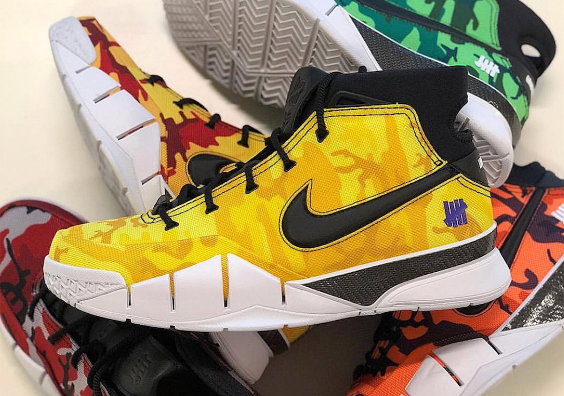 520bc95d8609a LeBron James Wears UNDEFEATED x Nike Kobe Protro PE In First Lakers  Appearance