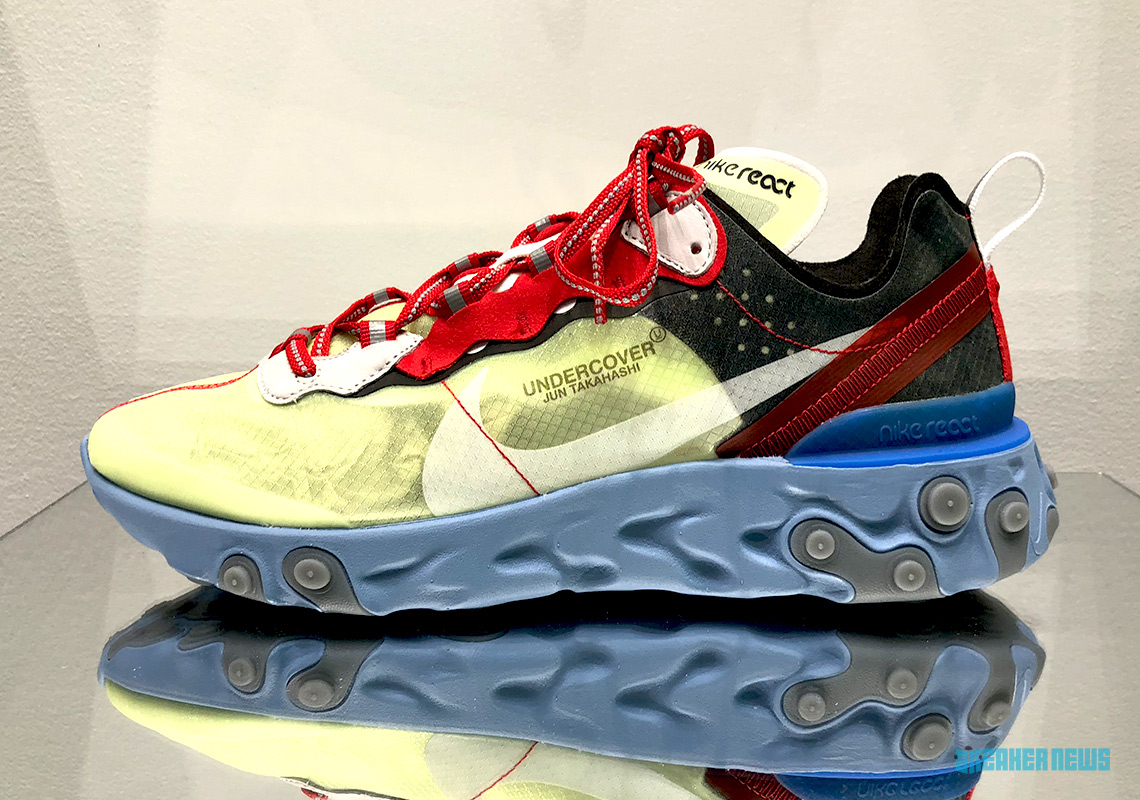 Nike Previews Upcoming UNDERCOVER x React Element 87 Release
