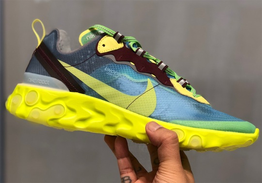 More UNDERCOVER x Nike React Element 87 Colorways Revealed