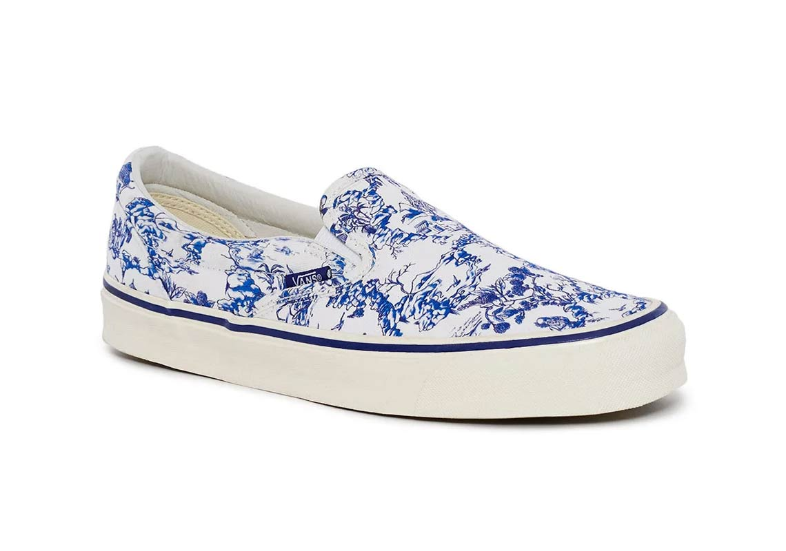 76c74a741c15 Opening Ceremony x Vans Slip-On LX AVAILABLE AT Opening Ceremony  75.  Color  Blue Marshmallow