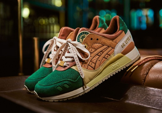"24 Kilates And ASICSTIGER Present The Gel Lyte III ""24 Kilates Express"""