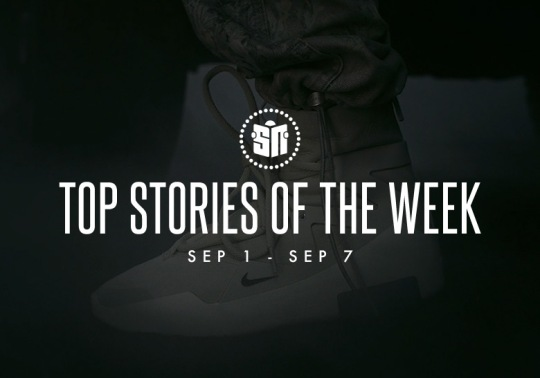 Colin Kaepernick's Just Do It Ad, Yeezy Boost 700 Restock, And More