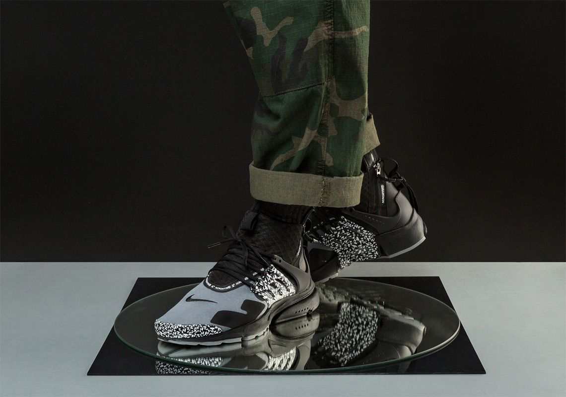 watch 9f554 82b61 ACRONYM x Nike Air Presto Mid Release Date  September 20, 2018  200. Color   Cool Grey Black