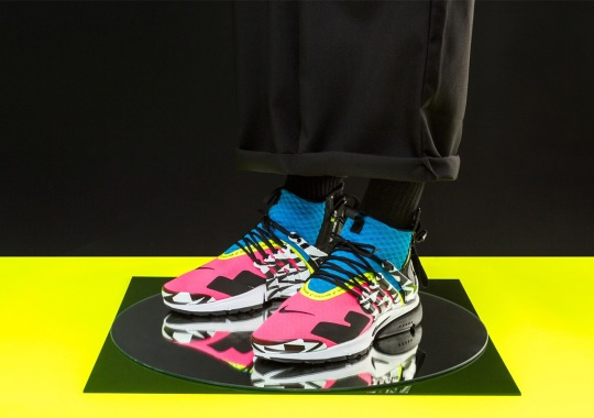 Raffle List For The ACRONYM x Nike Presto Mid