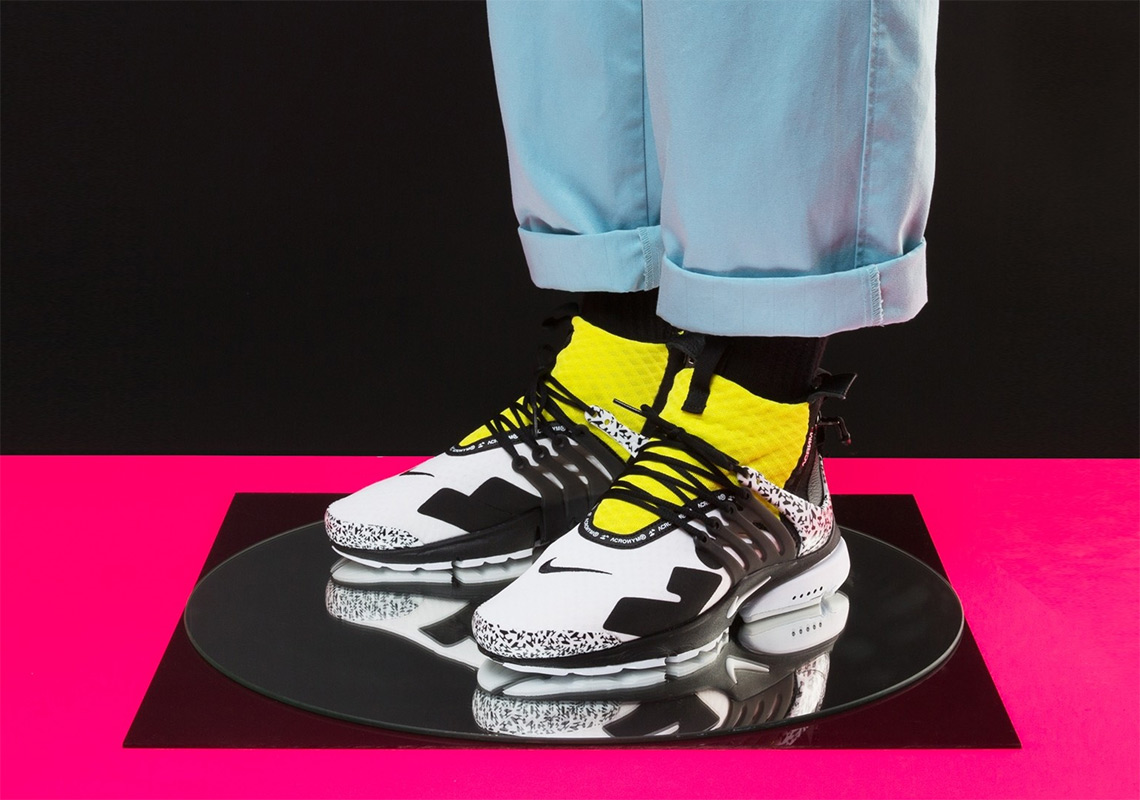 best service 718da c3719 ... promo code for acronym x nike air presto mid release date september 20  2018 200.