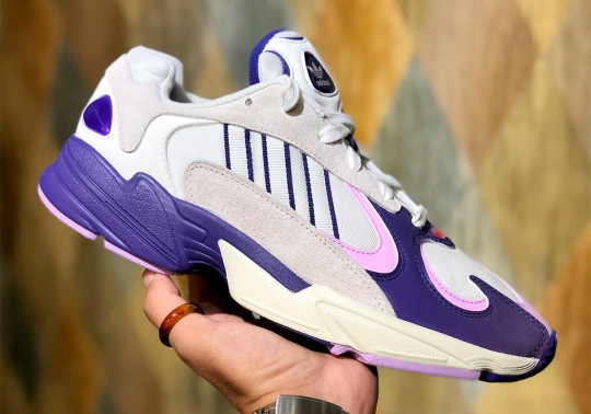 """Up Close With The Dragon Ball Z adidas Yung 1 """"Frieza"""""""