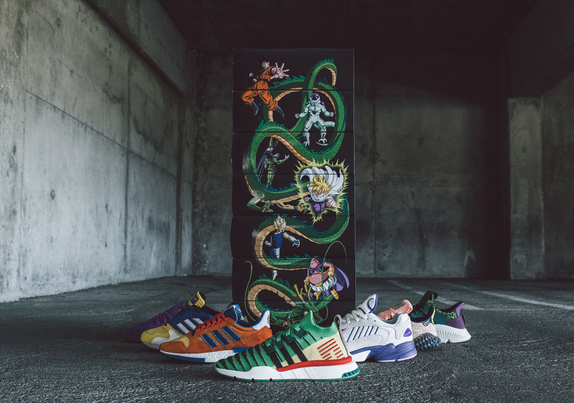 adidas Dragon Ball Z Complete Collection Revealed
