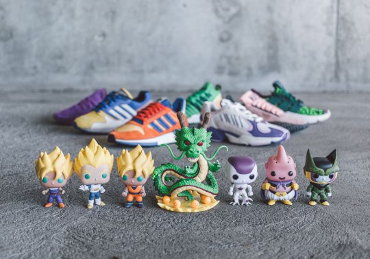 The Complete adidas Dragon Ball Z Collection Revealed By BAIT