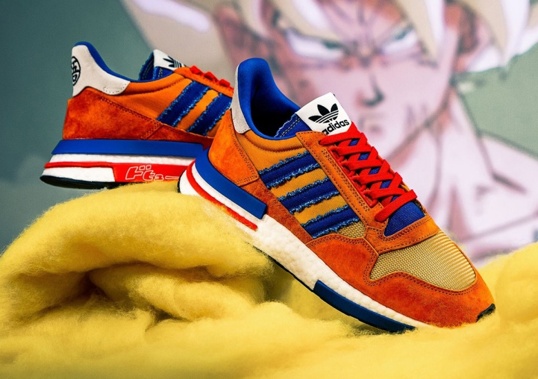 the best attitude 90522 e3fff adidas Dragon Ball Z Gokue ZX 500 RM Release Info ...