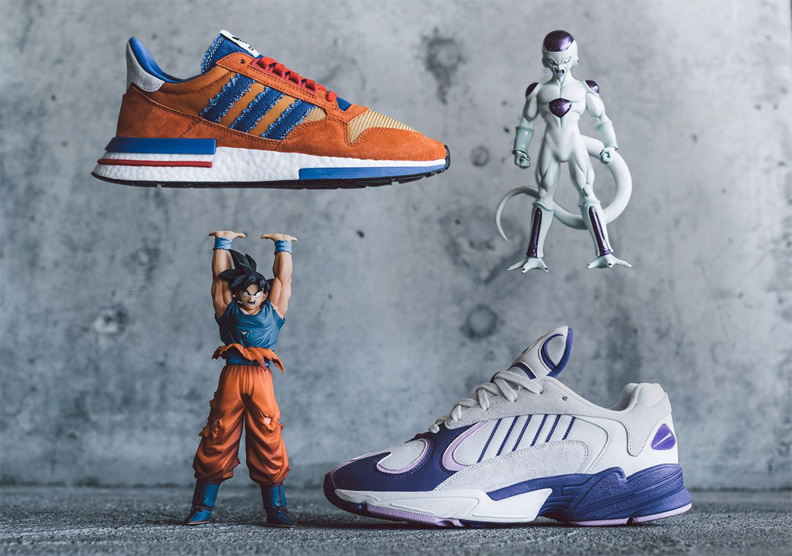 "best authentic 8f74d eb1b0 The adidas Dragon Ball Z ""Goku"" + ""Frieza"" Releases Tomorrow"