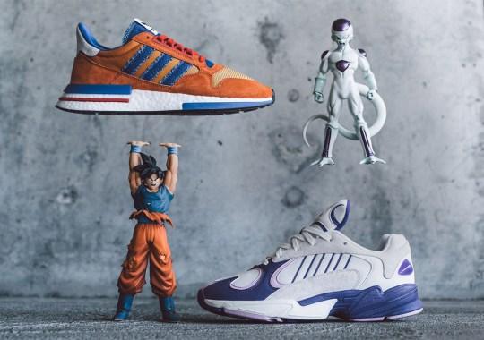 """The adidas Dragon Ball Z """"Goku"""" + """"Frieza"""" Releases Tomorrow"""