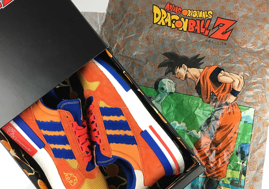 size 40 3f935 65211 Dragon Ball Z adidas Goku ZX 500 RM - Unboxing Video ...