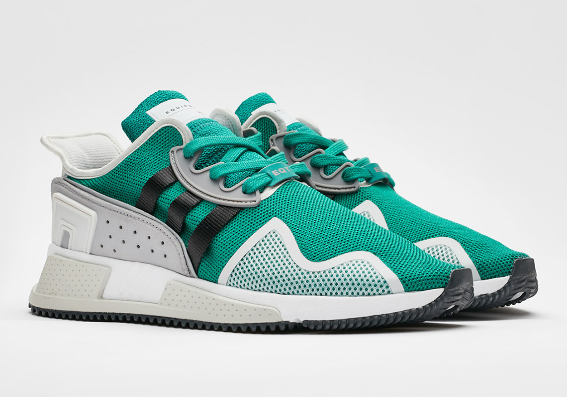 promo code 99bc6 af1d5 adidas Adds Their Signature Green To The EQT Cushion ADV