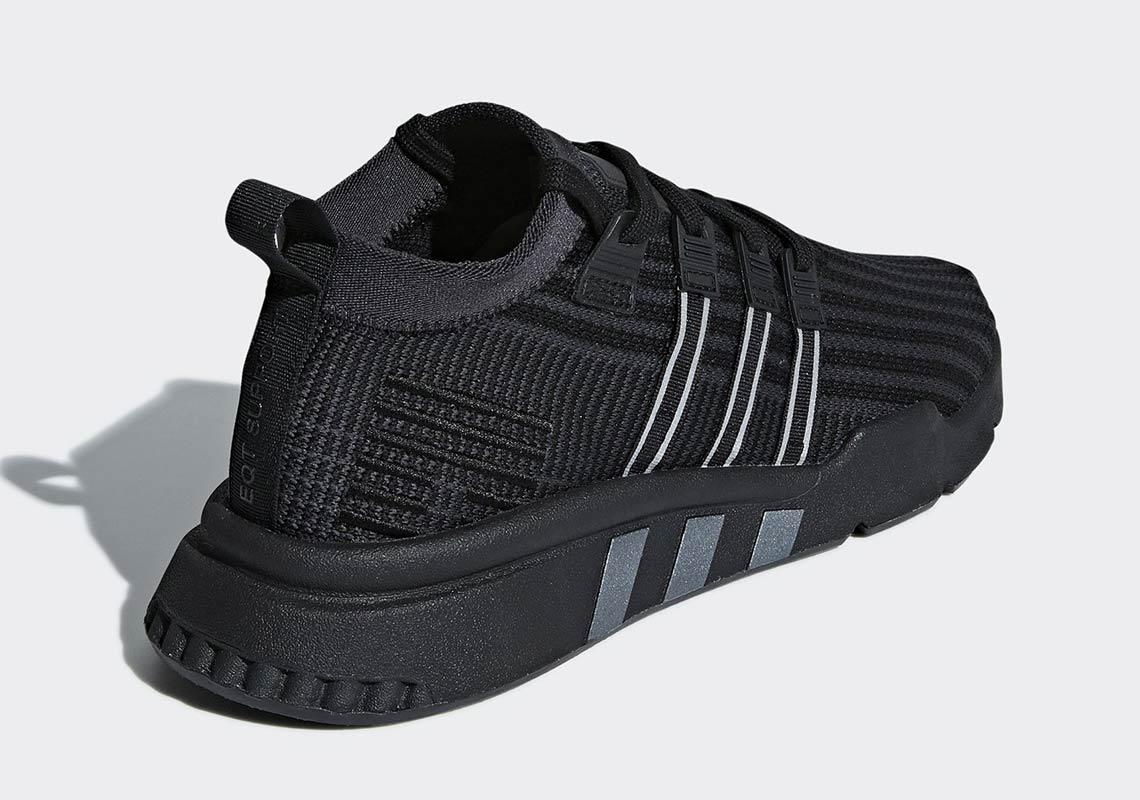 """adidas eqt support mid b37456 6 - The adidas EQT Support Mid ADV PK """"Core Black"""" Drops October 1st"""
